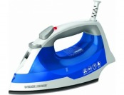 47% off Black & Decker IR03V Easy Steam Iron, White/Blue