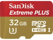 75% off Sandisk Extreme Plus 32GB microSDHC Memory Card
