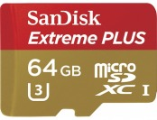 79% off Sandisk Extreme Plus 64GB microSDXC Memory Card