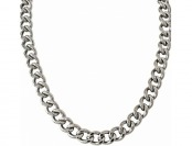 90% off Stainless Steel Curb Link Chain