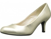 72% off Easy Street Women's Passion Dress Pump, Champagne