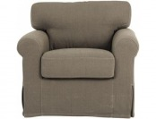"75% off Sophie Kid's Chair 24.5""Hx26.2""Wx24""D, Dark Grey"