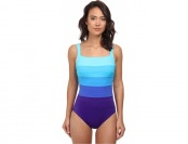 70% off Miraclesuit Spectra Band-it Square Neck One-piece Swimsuit