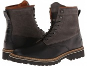 70% off Wolverine Tomas Plain Toe Hiker (Black) Men's Boots
