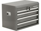 "$20 off Husky 26"" W 5-Drawer Chest, Metallic Silver"