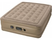 50% off Insta-Bed Raised Queen Air Mattress with Never Flat Pump