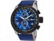 90% off Invicta 19411 Men's Aviator Chrono Blue Nylon Blue Dial Watch