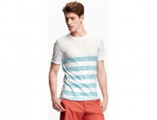 67% off Old Navy Striped Slub Knit Tee For Men (reg, big, & tall sizes)