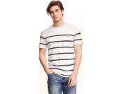 58% off Old Navy Soft Washed Striped Crew Neck Tee For Men