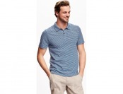 55% off Old Navy Striped Jersey Polo For Men (reg, big, & tall sizes)