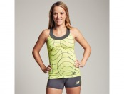 66% off New Balance Women's Printed Racerback Tank