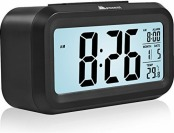75% off Alarm Clock with Big LCD Screen