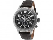 $735 off Akribos XXIV Men's Ultimate Chrono Leather Watch
