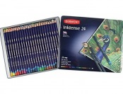65% off Derwent Drawing Pencils, Inktense, 4mm Core, Metal Tin, 24