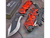 84% off Mtech Ballistic Skull Camo Assisted Opening Pocket Knife
