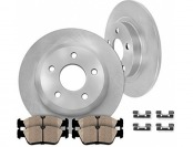 54% off Callahan REAR Premium Grade Rotors + Ceramic Brake Kit