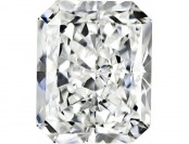 85% off Radiant Shape White Loose Diamond Gemstone 3/4ct, H-I, SI1