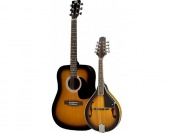 69% off Rogue Acoustic Guitar And Mandolin Pack