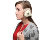 76% off Fur Lined InnoHug Headphones - Cream