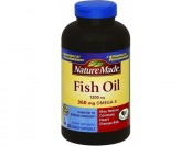 55% off Nature Made Fish Oil 1200mg + 360mg Omega-3 Softgels