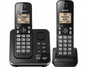 20% off Panasonic Kx-tgc362b Dect 6.0 Cordless Phone System