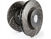 59% off EBC Brakes GD7412 Dimpled and Slotted Sport Rotors