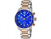 85% off Swiss Legend Blue Geneve Multi-Function Two-Tone Watch