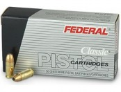 49% off 50 rounds Federal Hi-Shok 9mm 115 Grain JHP Ammo