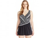 85% off Maxine of Hollywood Shangri Swim Dress Swimsuit