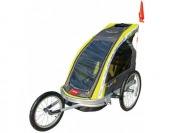 54% off Premier 2-Child Aluminum Bike Trailer/Racing Stroller