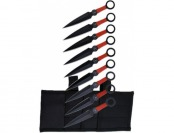 22% off Perfect Point PP-060-9 Throwing Knife Set with Nine Knives