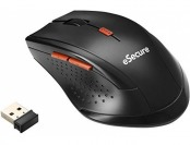 67% off eSecure Optical Wireless Mouse with USB Nano Receiver