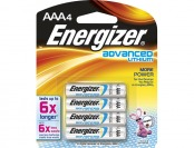 60% off Energizer Advanced Lithium AAA Batteries (4-pack)