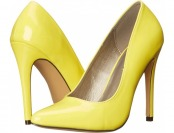 69% off Michael Antonio Lamiss Yellow Patent High Heels
