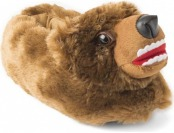 90% off Adult Fuzzy Bear Slippers