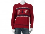 90% off Men's Dockers Holiday Snowflake Sweater