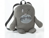 80% off Fuzzy Monster Backpack - Kids, Grey