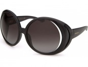 80% off Yves Saint Laurent Women's Oversized Black Sunglasses