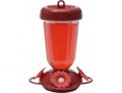 80% off Perky-Pet Finest Red Flower Top Fill Plastic Hummingbird Feeder