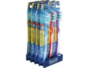 85% off Oral B Shiny Clean Soft Toothbrushes, 12 Pack