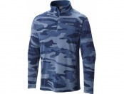 50% off Columbia Men's Klamath Range Printed Half Zip Sweater