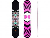 58% off DC Women's Ply Snowboard, Multi Color, 142