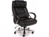 69% off OFM Avenger Series Big and Tall Leather Executive Swivel Chair
