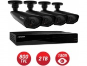 24% off Defender Connected Pro 8-Ch 960H 2TB Surveillance System
