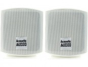71% off Acoustic Audio AA321W Surround Speakers, White, Set of 2