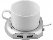 23% off NAMEO USB Tea Coffee Cup Mug Warmer 4 Port USB Hub