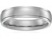 63% off Men's Titanium 5mm Comfort Fit Plain Wedding Band