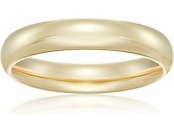 74% off Standard Comfort Fit Women's 14K Yellow Gold Band