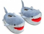 32% off Shark Plush Slippers for Grown Ups