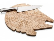 47% off Star Wars Millennium Falcon Wooden Cutting Board